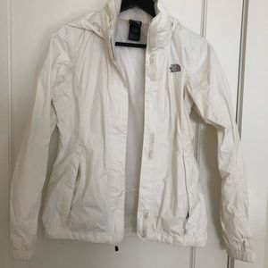 North face wind sheetlet in size XS, white
